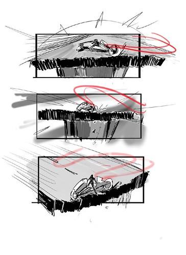 120912(2) - 好萊塢真人電影版《光明戰士 AKIRA》片頭場面的『分鏡表』正式公開......對啦、還有修改的空間啦! (6/7)