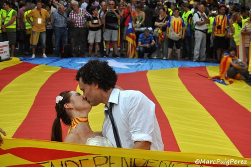 Manifestació unitària #11s2012: Catalunya, nou estat d'Europa