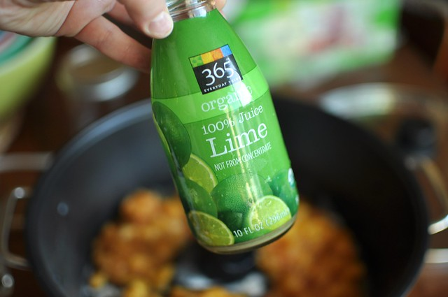 bottled lim juice