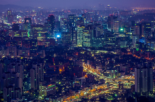 Awakening of the City - Seoul in Dawn