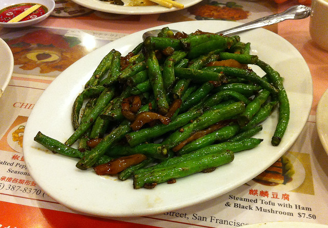 Dry-fried green beans | Flickr - Photo Sharing!