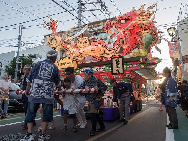 2012 中延ねぶた祭り