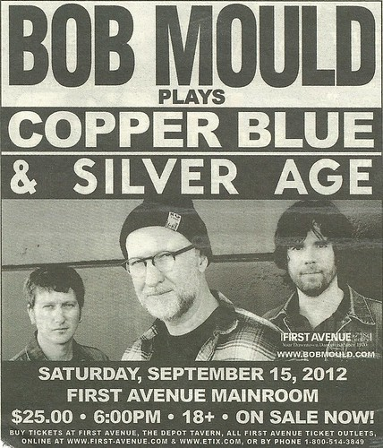 09/15/12 Bob Mould @ First Avenue, Minneapolis, MN