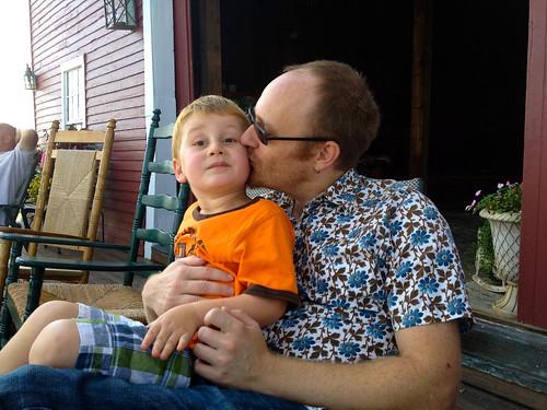 Milo + Dad