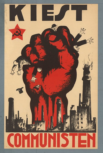 Steef Davidson. Vote for Communists! 1931