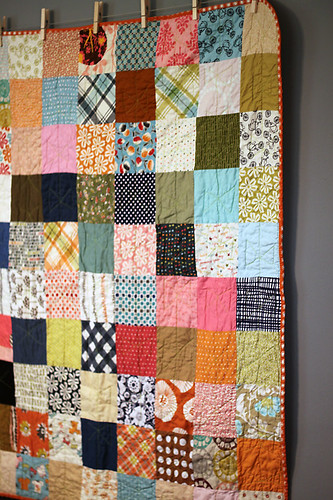 Lucy's Crab Shack Patchwork quilt