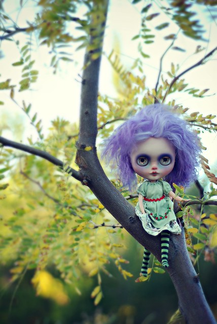 Little Fairy in the Tree