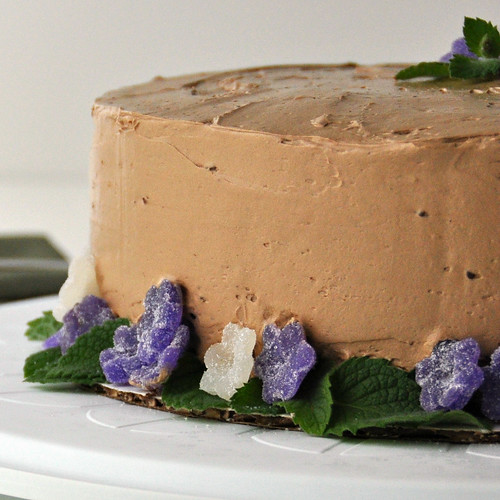 Chocolate Wacky Cake with Mocha Buttercream – The Way to His Heart