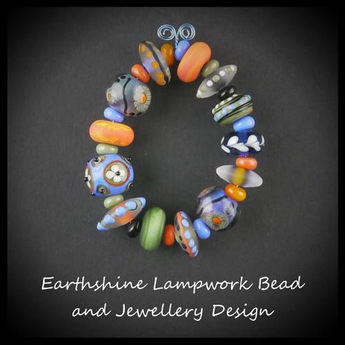 Random set of Lampwork Beads