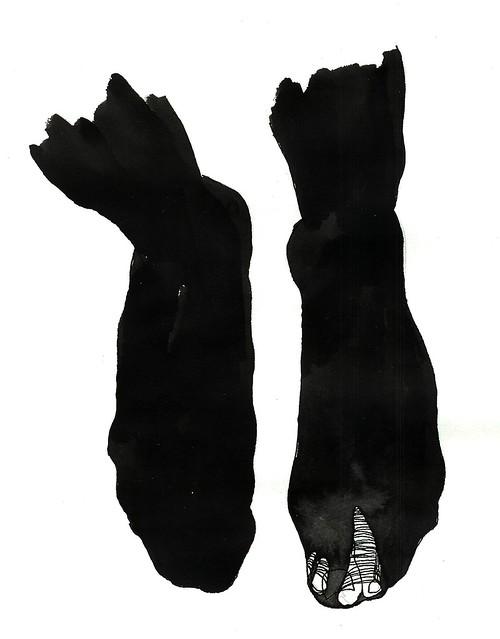 strumpbyxefötter