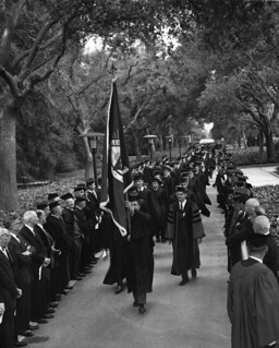 Commencement procession in 1965