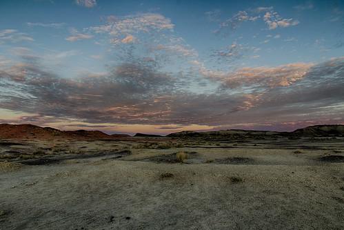sunset usa newmexico sunrise landscape us unitedstates northamerica farmington bistibadlands sanjuancounty colorefexpro4 pwpartlycloudy
