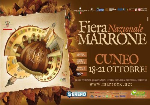 Fiera Nazionale del Marrone di Cuneo, locandina