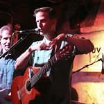 Calexico rocks a full room of WFUV Members downstairs at Hill Country BBQ in Manhattan. Hosted by Dennis Elsas. Photo by Laura Fedele