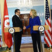 Secretary Clinton Meets With Tunisian Foreign Minister Abdessalem