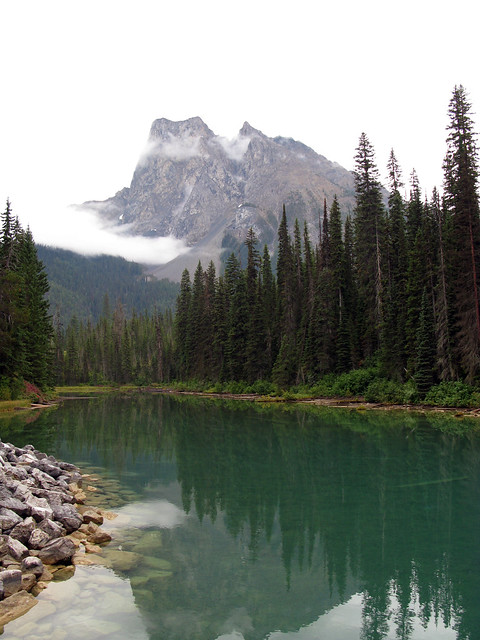 Emerald Lake and Mount Burgess, Alberta