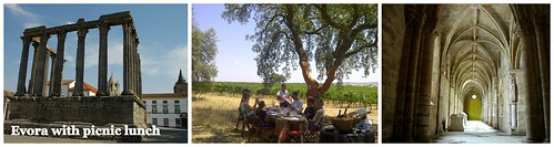 Evora with picnic lunch