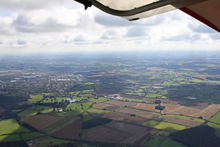 South Easterly View From Otherton Overhead