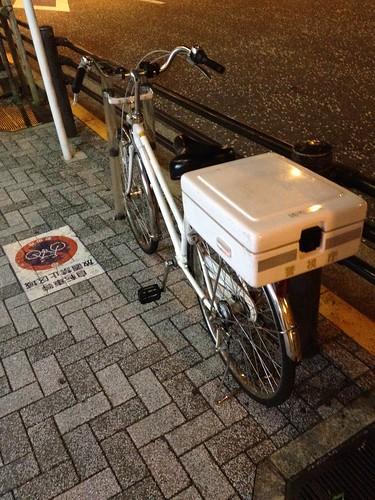 自転車等放置禁止区域に・・・