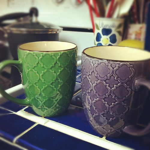 yes to new mugs (one is waiting for you) #makingspacecleanse