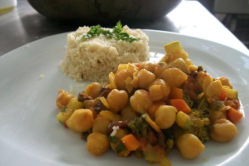 Cous Cous vegan estilo marroquí