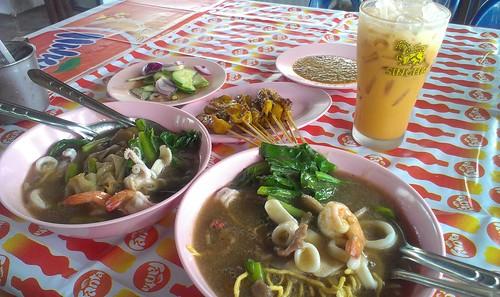 Koh Samui Lad Na restaurant -Khun jit サムイ島ラッドナー食堂