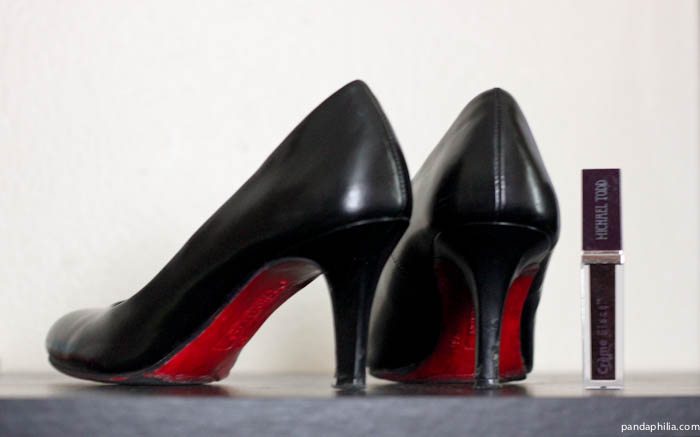 cheap red sole heels