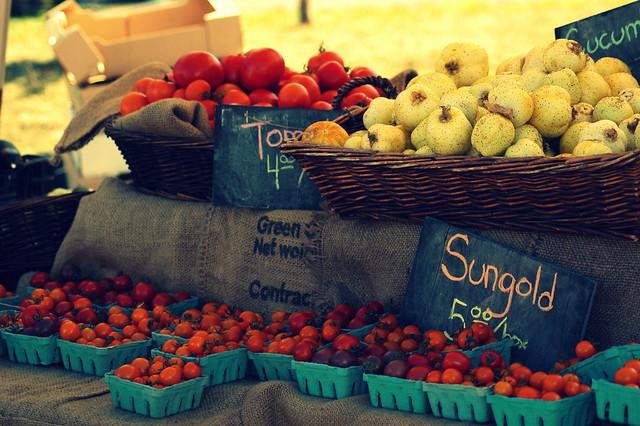 Kitsilano Farmers Market - Tomato Festival