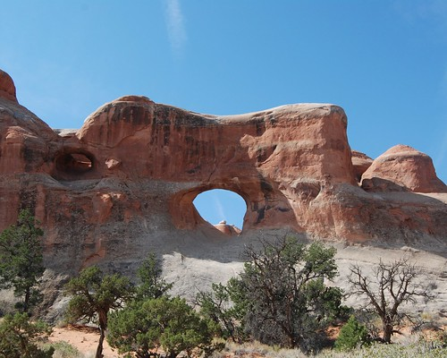Tunnel Arch, Devil's Garden Trail, Arches National Park, Utah