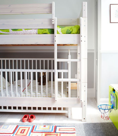 baby space: room for two : cot bunks