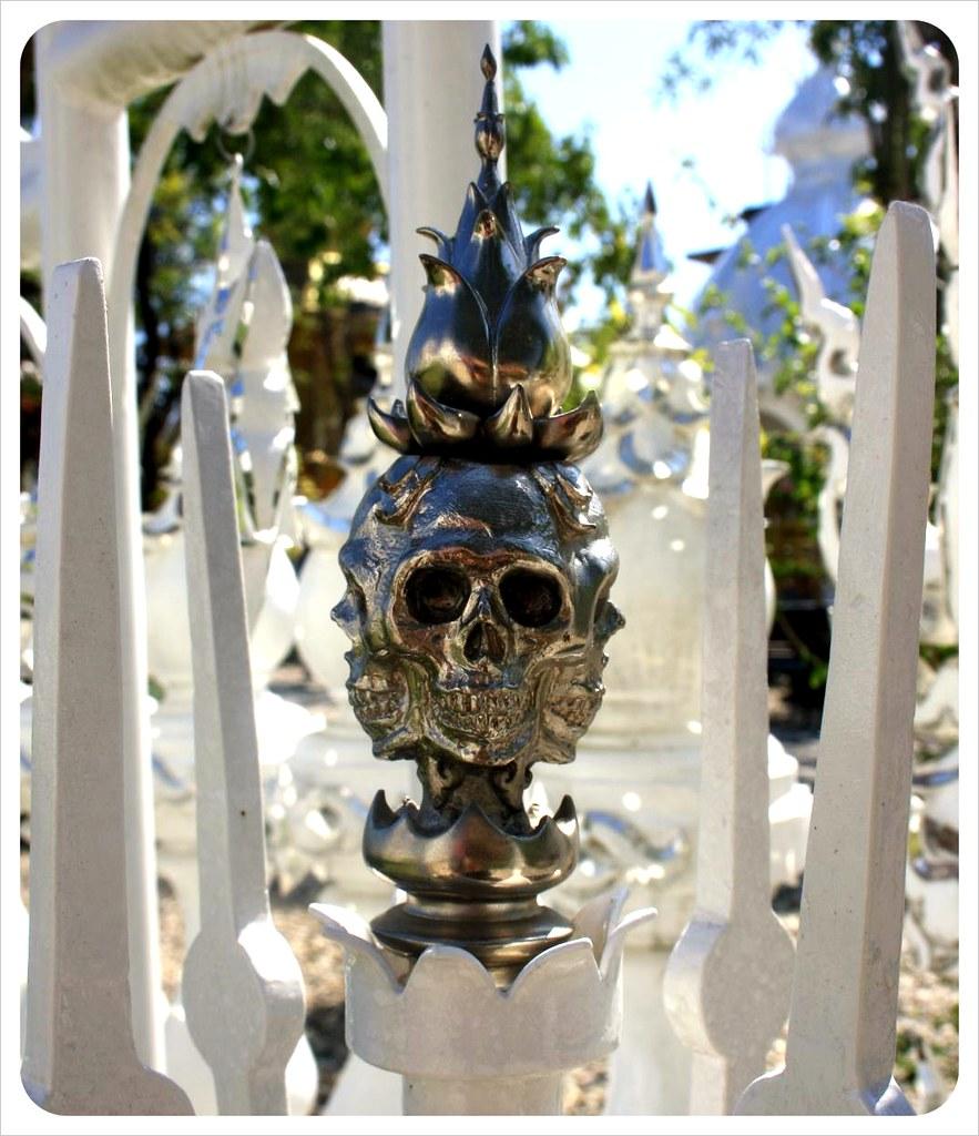 white temple skull
