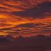 burning sky by scubaluna