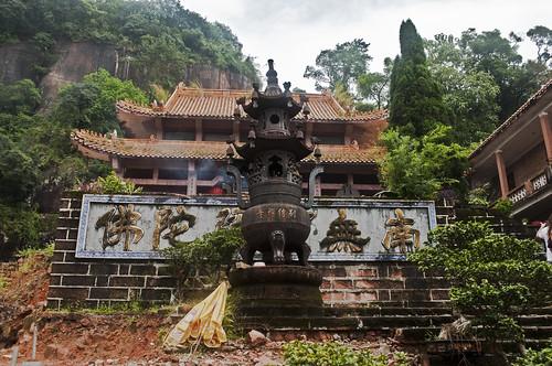 Templo en Danxia