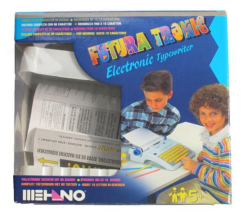 Mehano toy typewriter