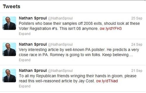 Sproul tweets