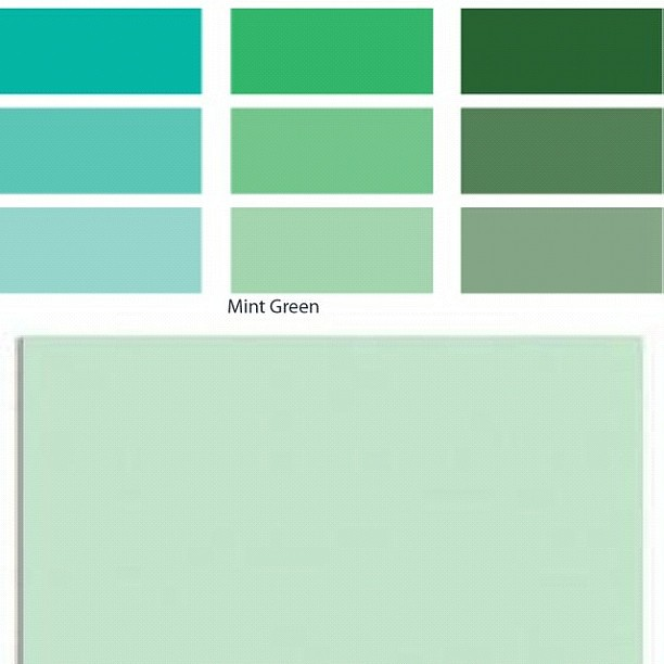 My Srlection For A Client Curtains Color Mint Green Calm