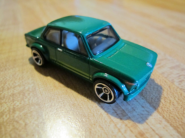 Green Hot Wheels BMW 2002