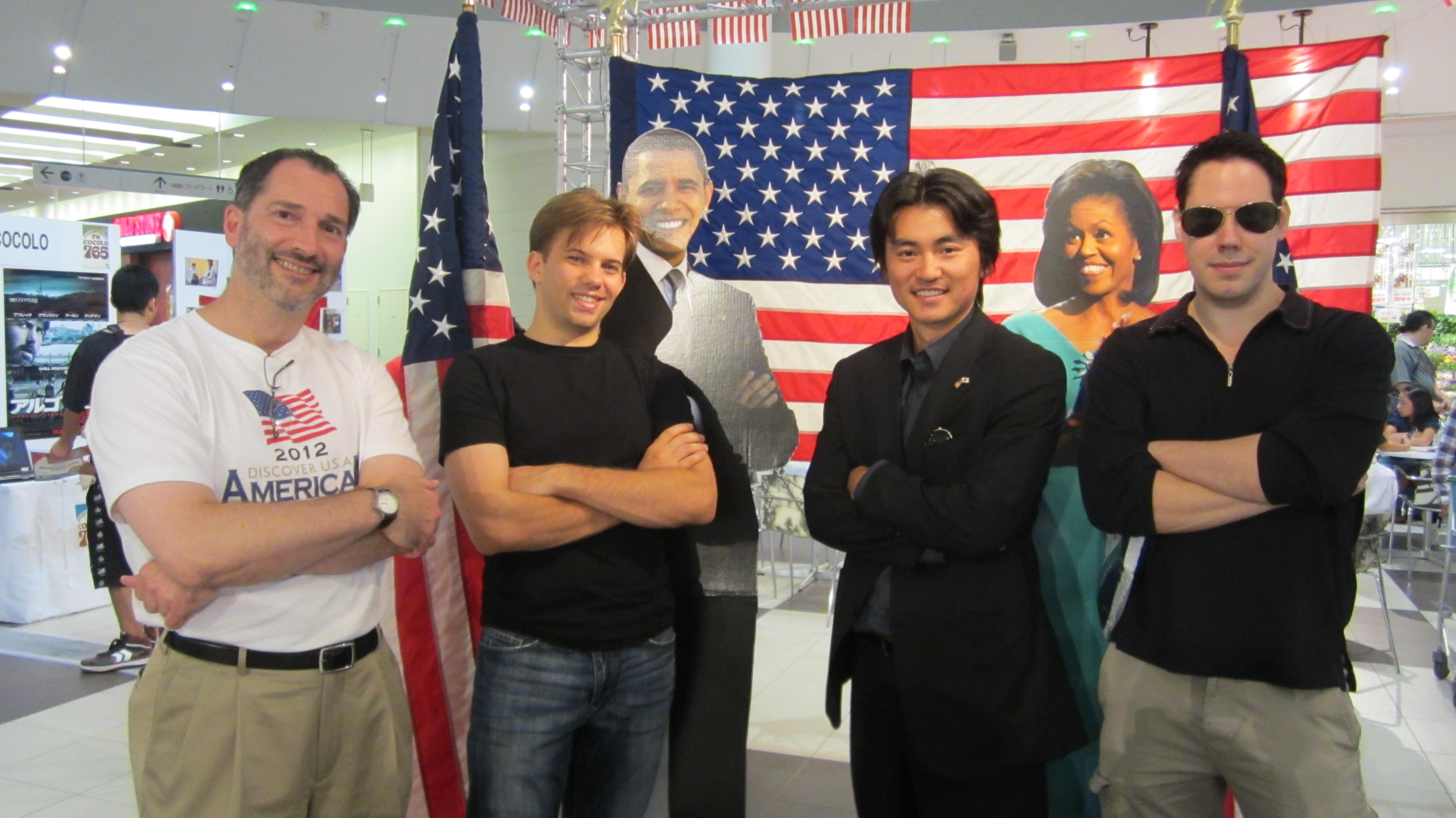 2012/9/29「Discover USA! American Day」