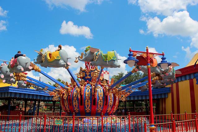 Wandering thru the new Storybook Circus area