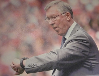 Fergie time: the extra minutes added to the end of a match when United are behind