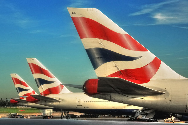 London Heathrow U.K. - British Airways Flag carrier