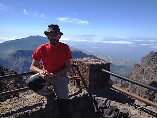 Daniel Gomez at Roque de Los Muchachos