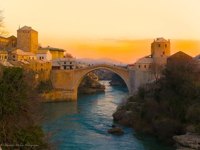 Mostar (BiH) (Sunset)