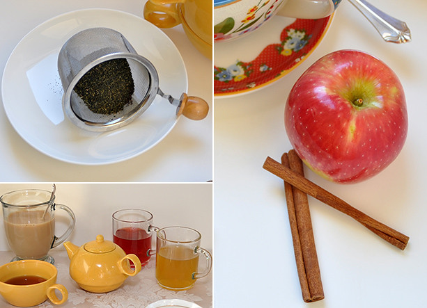 Ginger Tea - Cinnamon Apple Tea