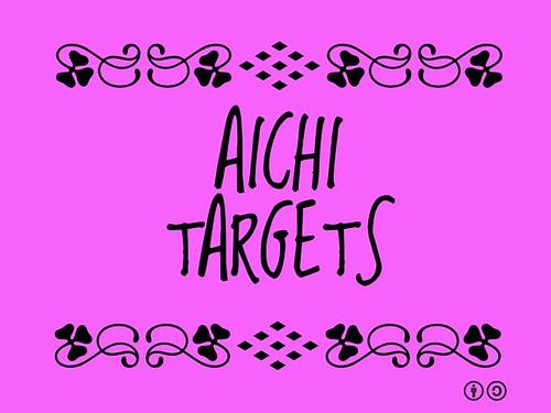 Buzzword Bingo: Aichi Targets
