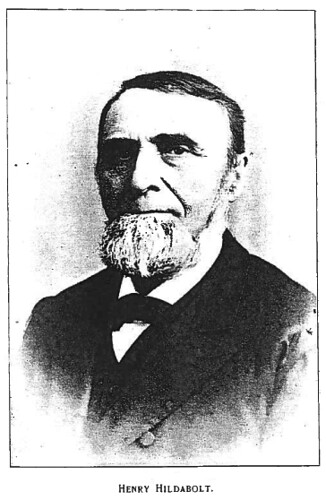 Henry Hildabolt (1826 1902) Was A Cabinetmaker, Undertaker, And Furniture  Dealer In Germantown, Ohio, From The 1850s Through About 1900.