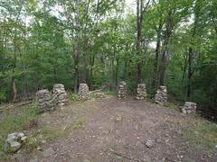 日, 2012-09-16 13:01 - Lenape Trail、ピクニック小屋跡