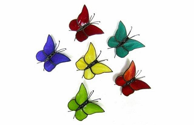 Bandada de mariposas