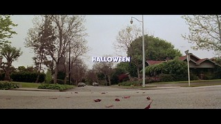 HALLOWEEN MOVIE TRIVIA:  Why do the trees in the original HALLOWEEN have green leaves?