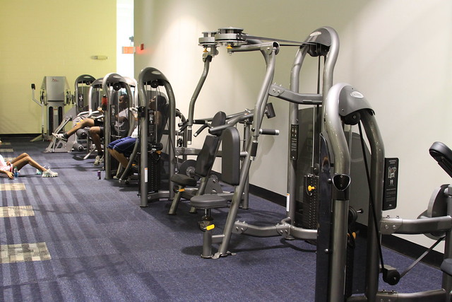 Fitness Center upgrades